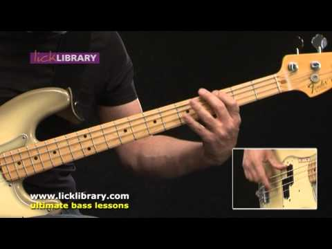 Hysteria Muse Bass Cover Performance | Bass Guitar Lessons With Phil Williams Licklibrary video