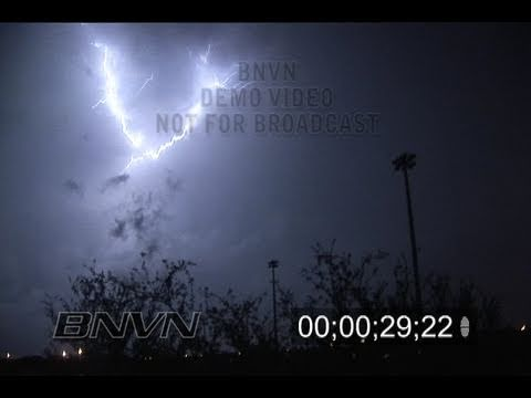 11/16/2006 South Florida Lightning Video