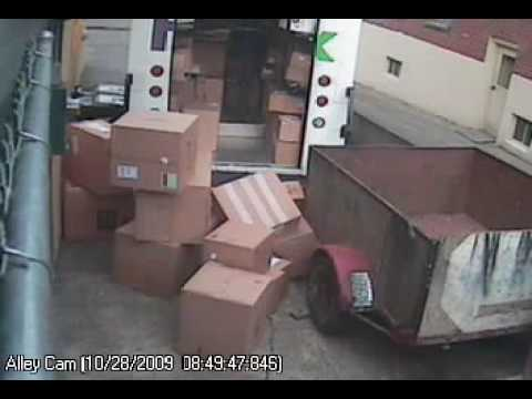 FedEx guy kicks the crap out of my boxes