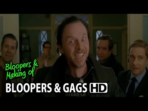 The World's End (2013) Bloopers, Gag Reel & Outtakes (Part1/2)