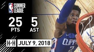 Shai Gilgeous-Alexander Full Highlights vs Rockets (2018.07.09) Summer League - 25 Pts, 5 Reb, 4 Ast