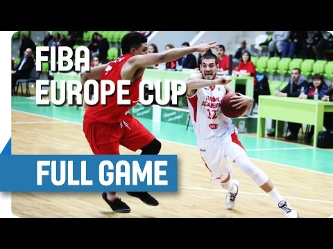 Lukoil Academic (BUL) v Antwerp Giants (BEL) - Full Game - Group P - FIBA Europe Cup