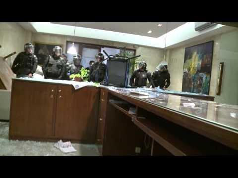 Este es el video de los disturbios ocurridos en Casa de Gobierno