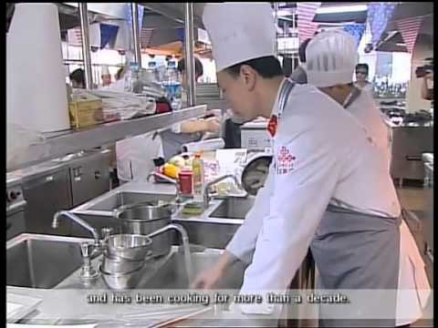 United Tastes of America - Asian Chef Challenge - aired on Shanghai English TV Channel
