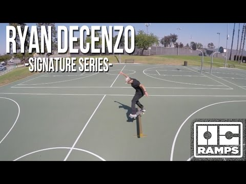 Ryan Decenzo's 24k Gold Rail - Signature Series by OC Ramps