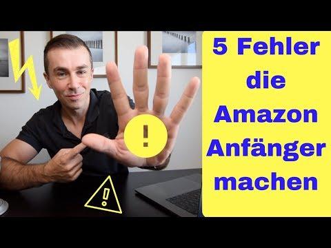 Die fünf größten Fehler die Anfänger mit Amazon FBA machen.