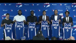 Philadelphia 76ers Introductory Press Conference