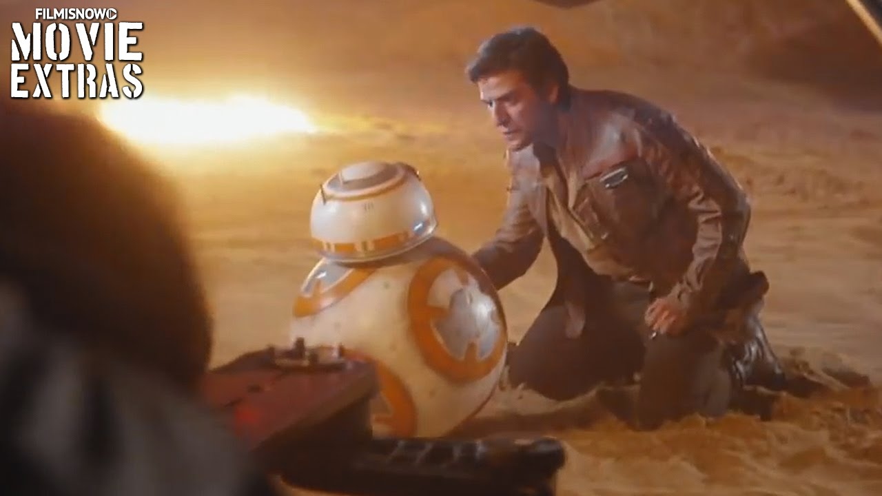 Star Wars: The Force Awakens 'Poe Comes Back' Featurette [Blu-Ray/DVD 2016]