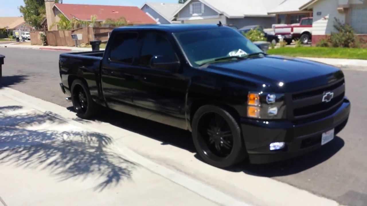 My 08 Chevy Silverado Ltz All Blacked Out Youtube