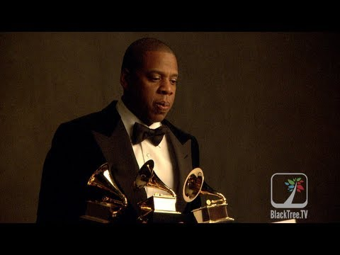 Jay-Z takes home 3 GRAMMYs and Drinks Louis XIV out of them | 55th GRAMMY Awards