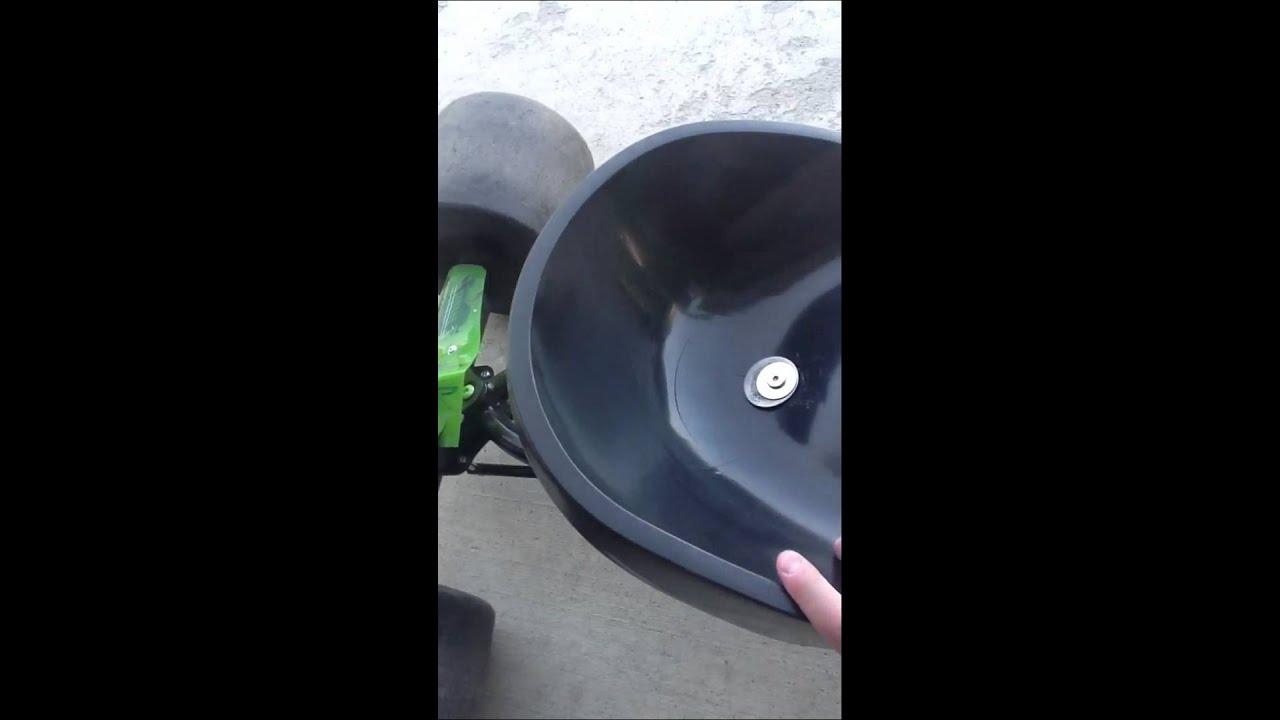 huffy green machine seat fix