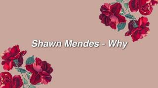 Download Lagu Shawn Mendes - Why { lyrics } Gratis STAFABAND