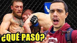 MCGREGOR VS KHABIB. POST-ANÁLISIS y COMENTARIO. UFC 229