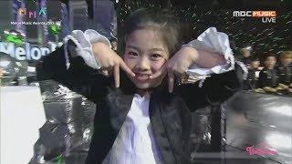 Melon Music Award 2017 NaHaeun Introduce Dance Award Candidate ☆Twice Redvelvet BTS Exo Winner