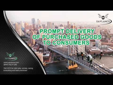 How Transport Drone Technology Is Changing the Face of Consumer Services