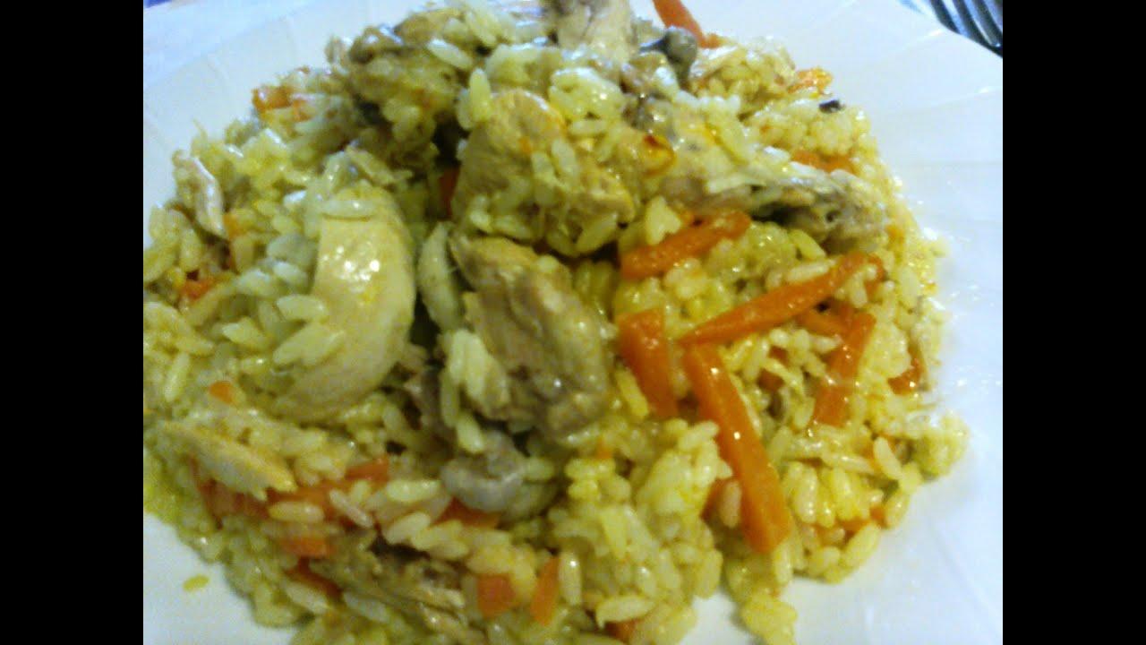 Дапанджи с рисом рецепт