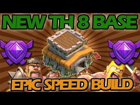 Clash of Clans: NEW Town Hall Level 8 Base + EPIC Speed Build!