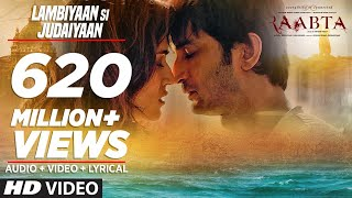 Download Arijit Singh : Lambiyaan Si Judaiyaan Song | Raabta | Sushant Rajput, Kriti Sanon | T-Series 3Gp Mp4