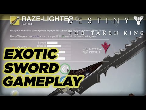 destiny the taken king sword gameplay