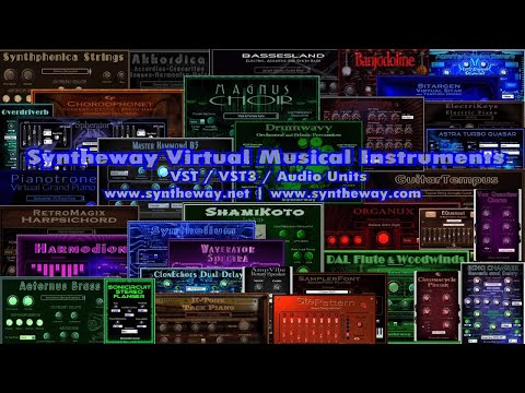 Syntheway Virtual Musical Instruments - Software Synthesis & Sampling. VST Pro Audio Plug-ins.