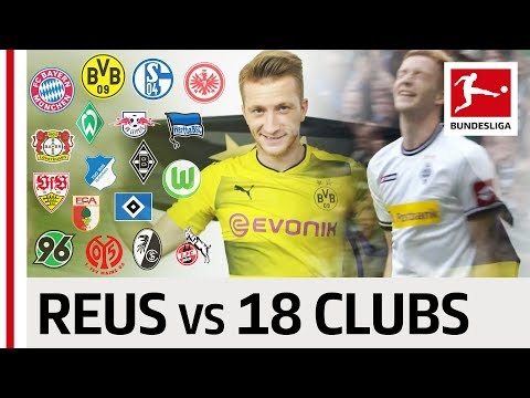 Marco Reus - 18 Clubs, 18 Goals - The Best Goal Against Every Club thumbnail