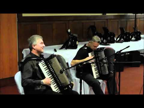Accordion festival, Smeg, 2012 *** Part 1 *** Moger - Navracic performance