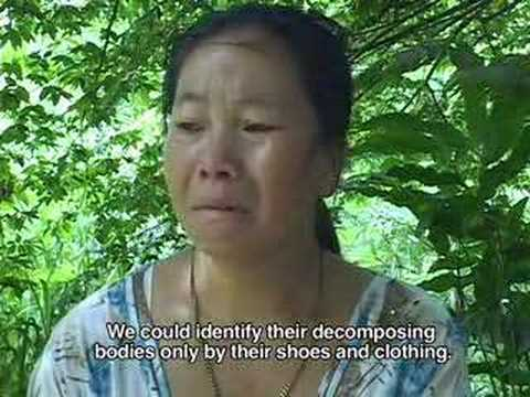 """HUNTED LIKE ANIMALS"" Hmong women raped by Lao soldiers"