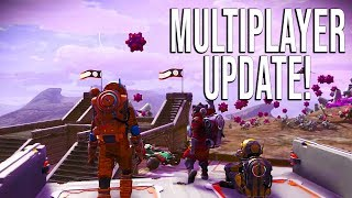 MULTIPLAYER IS HERE! - No Man's Sky NEXT - Trailer Analysis and News!
