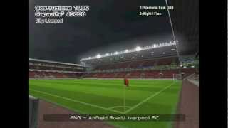 FA Premier League stadiums in PES 6 (HD 720p)