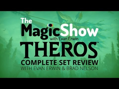 Theros Complete Set Review - Green