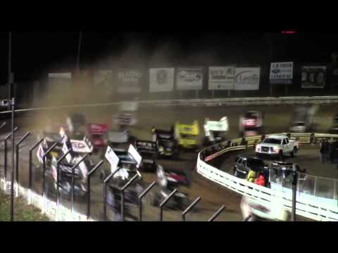 Williams Grove Speedway World of Outlaw Highlights 10-04-14
