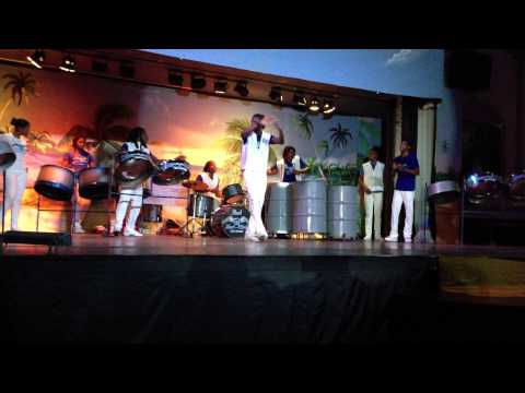 Silver Bird Steel Drum Orchestra 8 5 13 Riu Mo Bay Jamaica Part 2