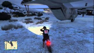 GTA V Online. Dentro del Titán. Cómo abrir la puerta trasera.