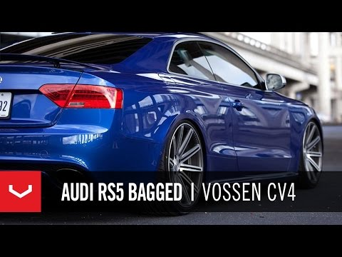 Audi RS5 Bagged on 20