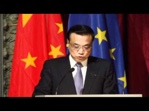 Li Keqiang on the EU-China Urbanisation Partnership