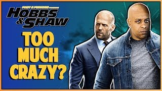 HOBBS AND SHAW OFFICIAL TRAILER 2 REACTION