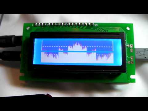 C Arduino LED VU meter - Pastebincom