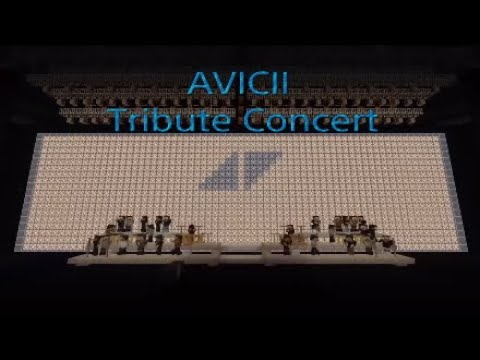 Avicii Tribute Concert In Minecraft