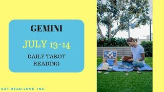 "GEMINI - ""A BIG SHIFT IS HAPPENING"" JULY 13-14 DAILY TAROT READING"