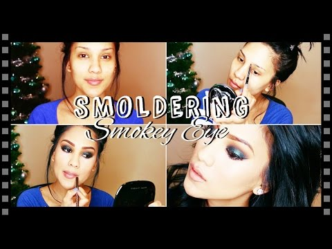 ♡Smoldering Smokey Eye Look   ALHSANDER♡