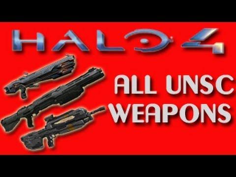 Halo 4 Unsc Guns Halo 4 Unsc Weapons Breakdown