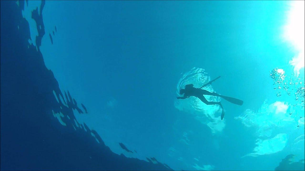 Deep Water Spearfishing Hawaii Spearfishing Deep Blue