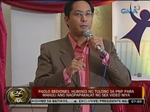 24oras: Paolo Bediones, Limang Taon Na Raw Tila Bina-blackmail Ng Nagpakalat Ng Sex Video video