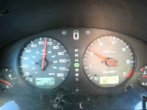 Subaru Outback H6 3.0 0-60 Acceleration
