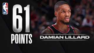 Lillard ERUPTS For CAREER-HIGH 61 PTS!