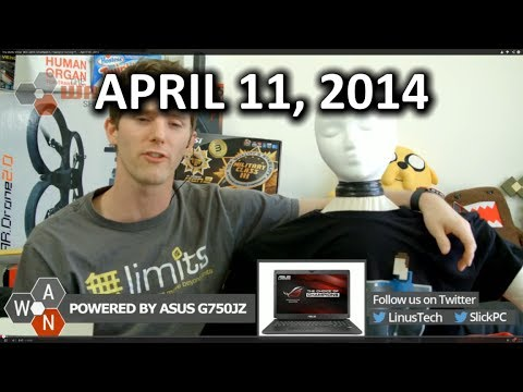 The WAN Show: Will.I.Am's Smartwatch, FreeSync Coming??,  - April 11th, 2014