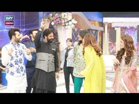 Amazing Dance Performance Of Faysal Qureshi,Aijaz AslamaAadi & Faizan