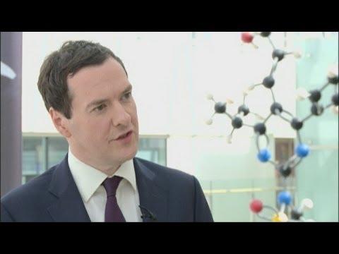 George Osborne wades into Pfizer/AstraZeneca row