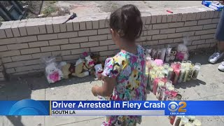 Arrest Made In Triple Fatal Crash In South Los Angeles