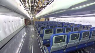 Airbus A380 - Making Cabin Interior (2/3) - [HD]